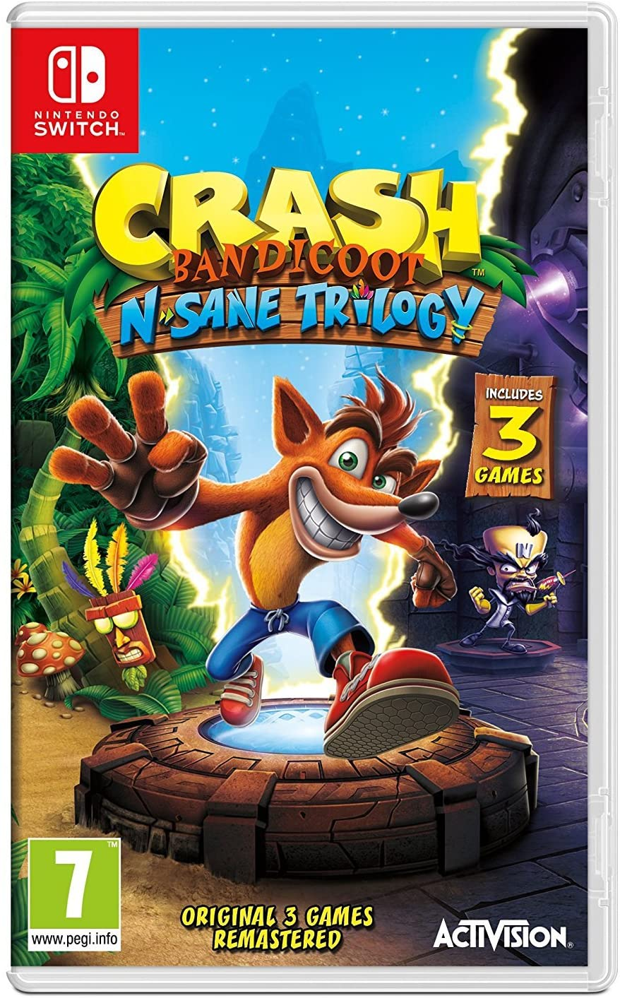 CRASH BANDICOOT N SANE TRILOGY (NINTENDOSWITCH)